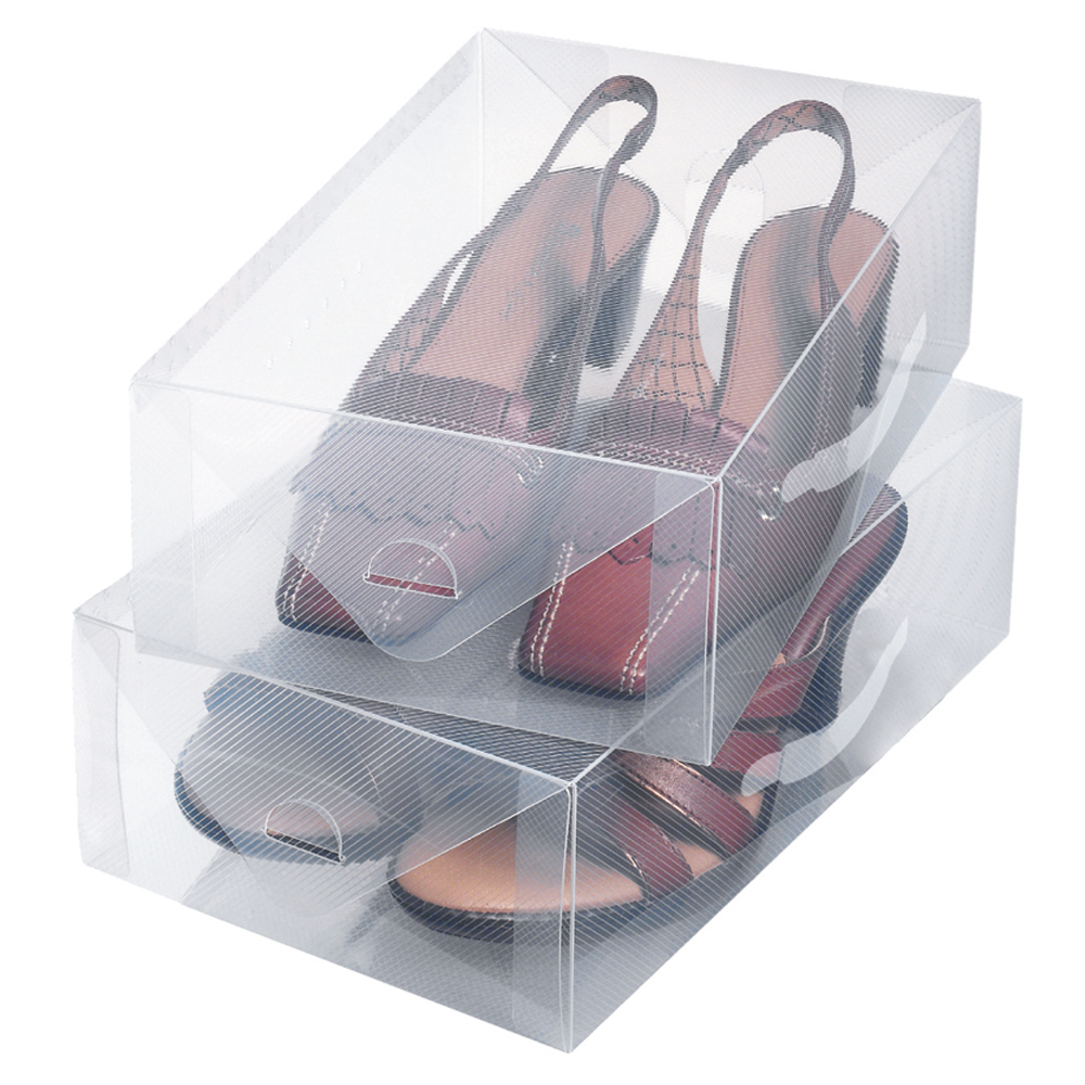 Set 2 scatola portascarpe ordinett for Scatola sottoletto
